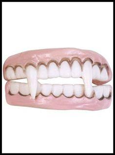 Brown Yellow Tramp Bad Teeth Fake Dentures OAP Zombie Old Man Pirate Vampire