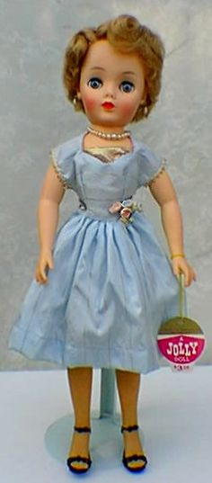 Fashion doll of the 50's designed Jolly Toys, Inc