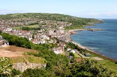 Whitehead, Co Antrim, UK. I lived in this town for 8 years. Attended Whitehead Primary school... and later took the train up to Carrickfergus Grammar School.