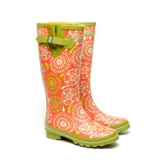 Jessica Swift Ennika Rain Boots $79.99  HAPPY FEET + CLEAN WATER = A MORE COMPASSIONATE WORLD   $5 from every online rain boot order goes to charity : water — an extraordinary non-profit that brings clean + safe water to people in developing regions. @Peggy Chroniger