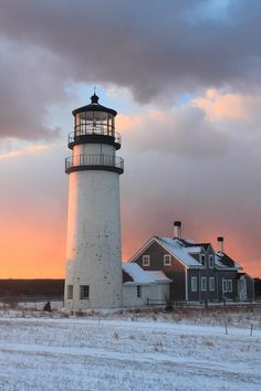 love me a pretty white lighthouse! Highland Lighthouse – Cape Cod