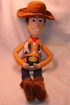 """Disney Toy Story WOODY Doll Plush  21"""" Sheriff Cowboy Andy #Disney #toystory #woody #plush"""