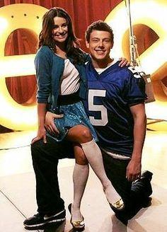 Rachel & Finn - Glee #Christmas #thanksgiving #Holiday #quote