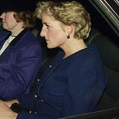 Diana arrives back at Kensington Palace on 9 December 1992. Prime Minister John Major had earlier announced in the House of Commons that the Princess and Prince Charles were separating, but had no plans to divorce.