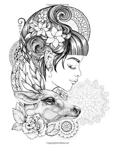 Amazon.com: Magic Beauty: Coloring Book for Adult: Animals, Birds, Flowers, Mandalas, Beautiful Fairies (9781545070413): Nadiya Vasilkova: Books
