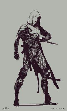 Destiny 2 - Hunter Sketch