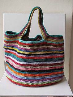 Crochet The Lucy bag pattern from Attic I like the handles on this one. Love, Lucy bag pattern from Attic I like the handles on this one. The Lucy bag pattern from Attic I like the handles on this one. Crochet Diy, Crochet Tote, Crochet Handbags, Crochet Purses, Love Crochet, Crochet Crafts, Ravelry Crochet, Crochet Ideas, Attic 24 Crochet