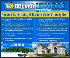 Jaye Pause and Gilly Linge just released an AMAZING revshare system and trust me on this, you have to jump in right now!This is by far one of the COOLEST ways to generate income right now. Imagine being able to passively advertise your business while earning income at the same time! One-of-a-kind, CUSTOM Revshare System that will generate passive traffic to your business while building you POWERFUL income at the same time!