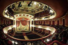 Photo taken at Vico Theater. Jumilla (Murcia) Spain.