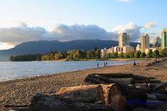 Sunset Beach, Vancouver, British Columbia