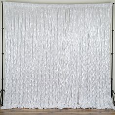 20ft x 10ft CHAMBURY CASA Chic Miteux Lamour Backdrop - White |  Some gatherings have more impact because they are outside the big cities which give way to the more free spirit and pureness, fresh air and add in some beautiful white decors. And weve crafted this unique party/ambiance linen to exude luxury while still blending in with the humble surroundings. Introducing the French Inspired Converging Lamour  Backdrop that is sure to exude a classy taste while definitely blending in alongside…