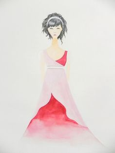 Red Lady by Yukari Matsushima - Contemporary Japanese Art Collection by Jean Pigozzi
