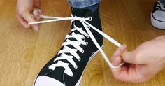 DIY Shoe Tying Trick