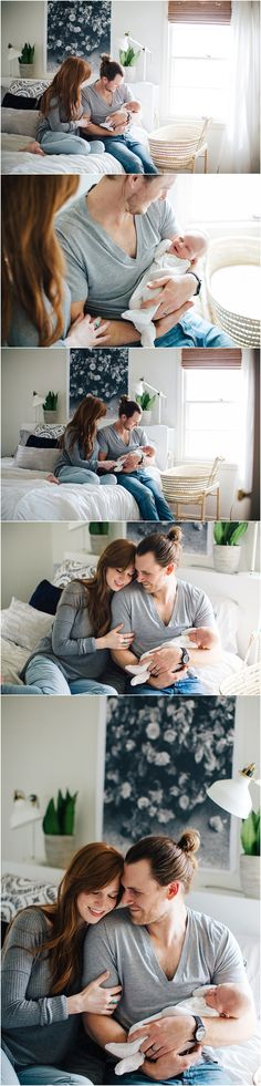 wonderful comfy at-home newborn session outfits. Allison Corrin Photography
