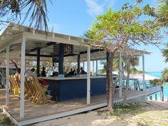 The Sandy Toes beach bar, Paradise Island, Bahamas
