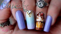 Nail Art Cup Cake - Nill Art