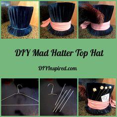 DIY Mad Hatter Top Hat - DIY Inspired