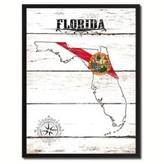 Shop for Florida State Vintage Flag Canvas Print Picture Frame Home Decor Wall Art. Free Shipping on orders over $45 at Overstock.com - Your Online Art Gallery Store! Get 5% in rewards with Club O! - 24156223