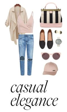 """""""Spring date """" by sarlota-krulisova on Polyvore featuring AG Adriano Goldschmied, H&M, Chanel, Christian Dior and Billabong"""