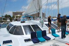 Aolani Catamaran Sailing - 48 guest max http://www.aolani.cc San Diego, CA