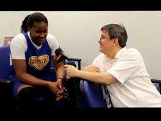 @Hofstra Pride Women's Basketball Senior Forward Shante Evans chats with Brad Kurtzberg for #1495SportsTV