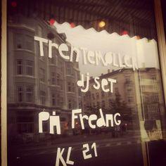 Trentemøller @ lesbisk kaffe