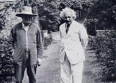 Winston Churchill and Albert Einstein (1933)