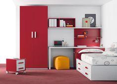 Dormitorio juvenil 069-KU2-015 de Singulárea