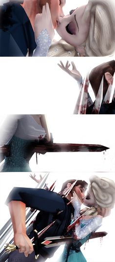 No More Lies [Hans x Elsa] by simplifiedwords.deviantart.com on @deviantART