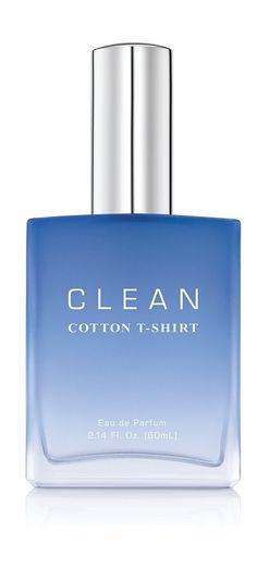 Clean- Cotton T-Shirt #perfume #fragrance