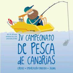 IV Campeonato de Pesca de Canarias. Del 18 al 20 de septiembre en Marina del Sur - Las Galletas.