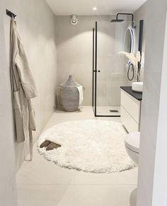 Bathroom Design Inspiration, Bathroom Interior Design, Home Decor Inspiration, Dream Home Design, House Design, Laundry In Bathroom, Interior Exterior, Minimalist Home, Home Bedroom