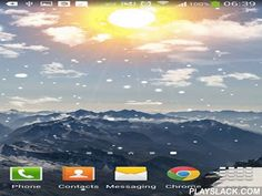 Winter Mountain  Android App - playslack.com , Winter mountain - live wallpapers will take you to the regions of winter mountains. Enjoy soft precipitation, light clouds and shinny star in a cold weather. The app has power saving mode.