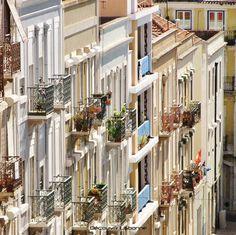 O maravilhoso encanto da Lisboa antiga. Lisboa é e sempre será Lisboa!! Foto: Découvrir Lisbonne