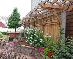 perhaps for my side yard... then the neighbor can keep her gravel as the walkway... =)