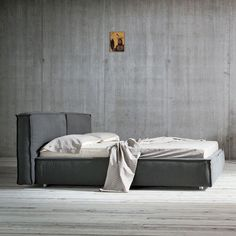 Double bed / contemporary / fabric / upholstered COMFORT  Dall'Agnese Industria Mobili
