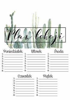 Best Indoor Garden Ideas for 2020 - Modern Blog Planner, Planner Pages, Weekly Planner, Printable Planner, Weekly Agenda, Bujo, School Timetable, Organization Bullet Journal, School Planner