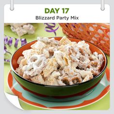 25 Days of Christmas Cheer :: Day 17 :: Blizzard Party Mix from Taste of Home -- shared by Kelley Scott, Parma, Ohio