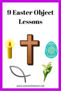 9 Easy and memorable object lessons and activities to do with your kids this Easter. Don't miss them!