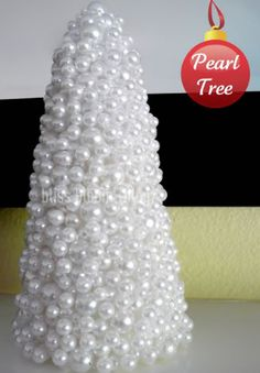 Add a little holiday cheer to your home with these festive tabletop DIY Christmas tree decorations! These Christmas tree crafts are fun, easy & kid-friendly Tabletop Christmas Tree, Christmas Tree Crafts, Cool Christmas Trees, Christmas Projects, White Christmas, Holiday Crafts, Christmas Holidays, Christmas Decorations, Christmas Ornaments