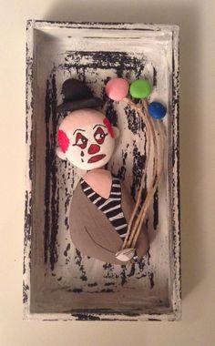 Stone Art: Clown