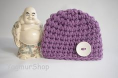 Lavender hat for Spring