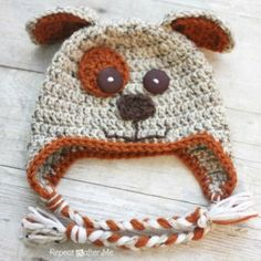 10 Free Animal Hat Crochet Patterns « The Yarn Box The Yarn Box
