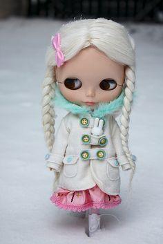 Miss Tutu, by Natasja_75, via Flickr     #doll #blythe #kawaii