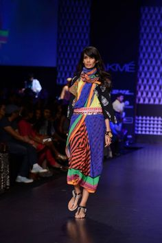 Winter/ Festive 2013 . Global Desi with LIVA at Lakme Fashion Week 2013.