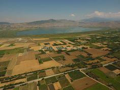 Vineyards Around Vegoritis Lake, Amyntaio, Macedonia, Greece