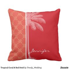 Bright Pink Tropical Hibiscus Throw Pillows This site is will advise you where to buyThis Deals Bright Pink Tropical Hibiscus Throw Pillows lowest price Fast Shipping and save your money Now! Coral Throw Pillows, Monogram Pillows, Custom Pillows, Decorative Throw Pillows, Coral Color, Coral Pink, Bright Pink, Tropical Bedrooms, Wedding Pillows