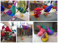 LINDEVROUWSWEB: vogeltjes van vilt