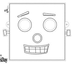 23 best robot party images on pinterest free printable robot and