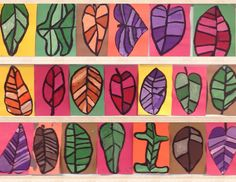 I love fall.and I love fall art! My second graders created these amazing fall inspired, tint focused paintings! Winter Art Projects, Craft Projects For Kids, School Art Projects, Autumn Art, Autumn Leaves, Fall Trees, Back To School Art, Art School, School Stuff